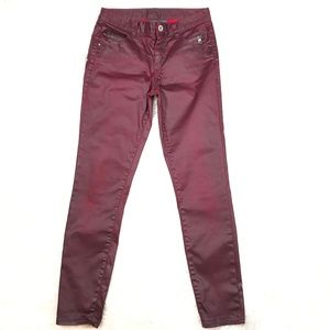 Armani Exchange Womens Coated Jeans Size 0